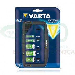 Caricabatterie Varta Uneversal Charger