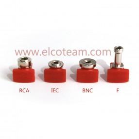 Pinza a compressione MicroTek per connettori F, IEC, BNC e RCA