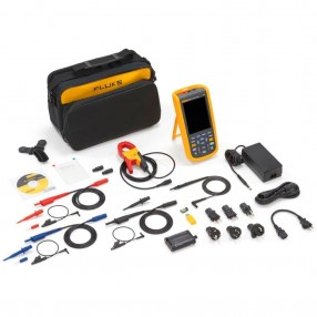 Fluke 125B/S Oscilloscopio Industriale ScopeMeter 40MHz con Custodia e Software