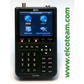 Misuratore di campo DTT/SAT Exitv Combox