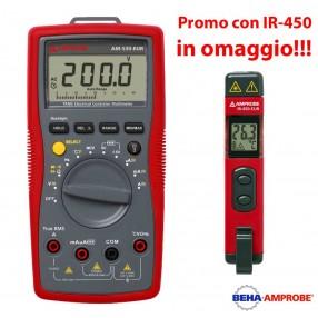 Amprobe AM-530 Multimetro Digitale + Temometro IR-450