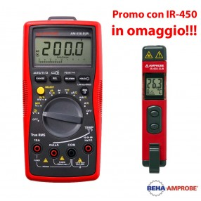 Amprobe AM-550 Multimetro Digitale + Temometro IR-450