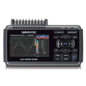 Graphtec GL220 Datalogger Registratore Dati 10 canali
