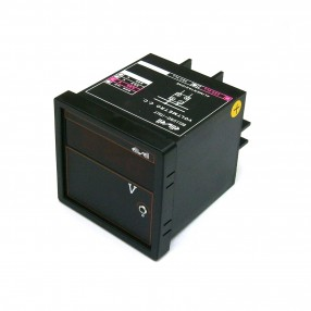 Voltmetro digitale da pannello 9,99 VDC alimentazione 220VAC
