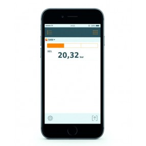 Testo 549i Manometro per Alte Pressioni Bluetooth Smart Probes