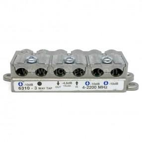 Derivatore 3 vie -10db Telewire 6310