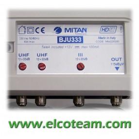 Centralino Mitan BJU333 3 ingressi 32/36 dB