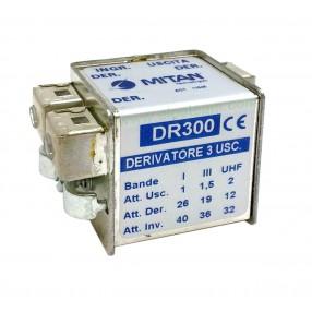 Derivatore 3 vie Mitan DR300