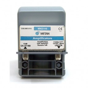 Amplificatore da palo UHF Mitan EU102 a basso rumore