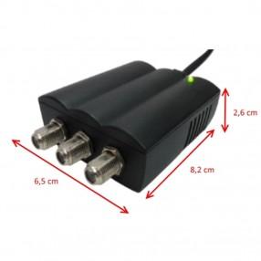 Amplificatore autoalimentato a due uscite Geser GE33005