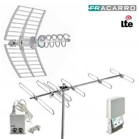Kit Antenna Digitale Terrestre Fracarro KIT 8 EVO 217940