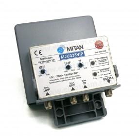 Mitan MJU333VIP Amplificatore da palo 3 ingressi, 3 regolazioni, tecnologia VIP