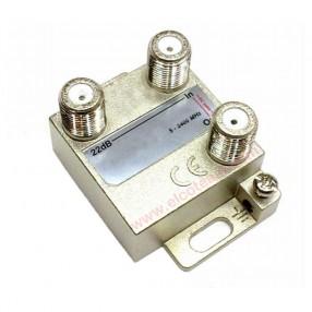Derivatore 1 via -22 dB Fracarro DE1-22 cod. 280713