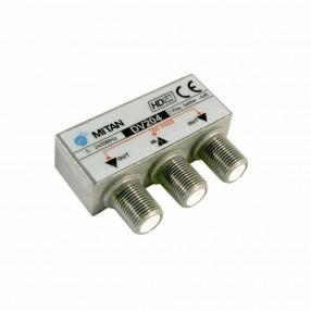 Partitore 2 vie Mitan serie Micro DV204