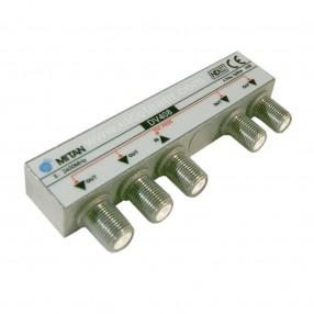 Partitore 4 vie Mitan serie Micro DV408