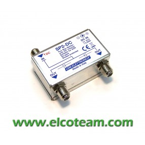 Divisore a 2 vie con inseritore DC LEM SP2-DC