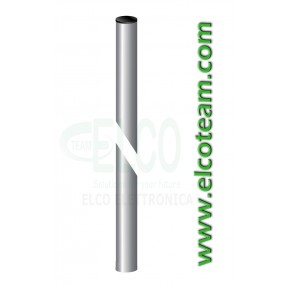 Palo singolo rinforzato 1mt Ø 45mm spessore 1,4mm
