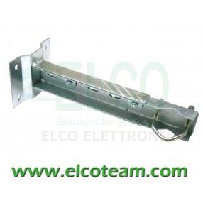 Zanca a muro regolabile 300÷450 mm