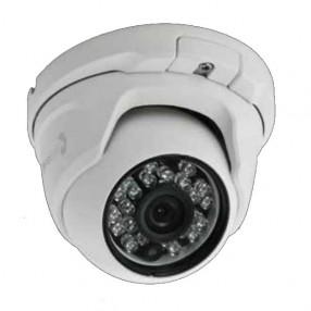 Telecamera Mini Dome Antivandalo CMOS 800 Linee Ottica Fissa 2,8mm