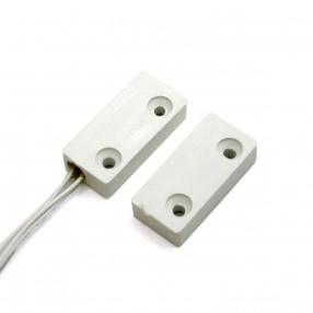 Contatto magnetico bianco per montaggio a vista FDP A-R3P