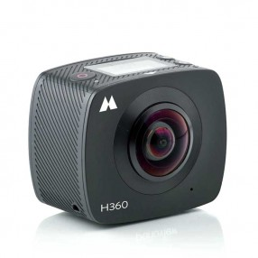 Midland H360 Action Camera per Ripresa sferica a 360°