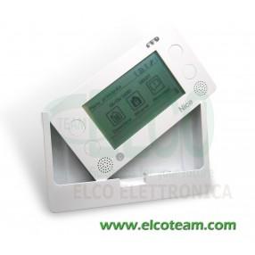 Telecomando wireless Touch screen Nice HSTS2IT per sistemi Nice HomeSystem - Supporto