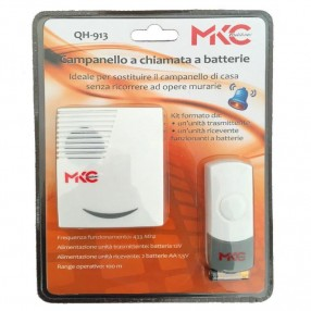 QH-913 Campanello Wireless a Batteria
