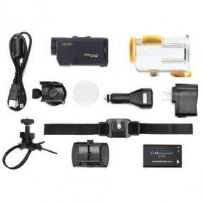 Midland XTC-300 Action Camera HD con custodia Waterproof