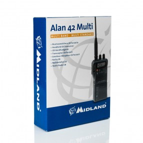 Alan 42 MULTI - CB Portatile Multibanda