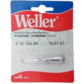 70-01-07 Punta Weller per Pyropen