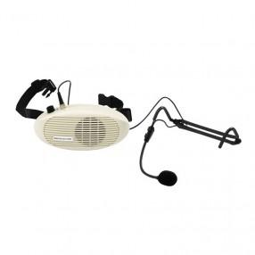 Monacor WAP-3 Sistema di Amplificazione a Cintura con Microfono Headset