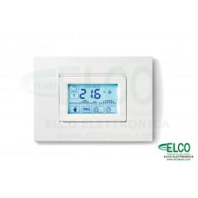 Cronotermostato Settimanale da Incasso Touchscreen Bianco Finder 1C.51