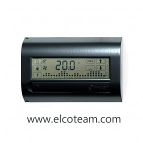 Cronotermostato Touchscreen Finder Bianco