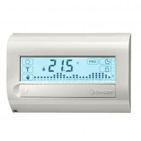 Finder 1C.81 Cronotermostato touchscreen bianco con programmazione da smartphone NFC