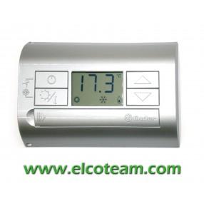 Termostato Digitale con display Finder Grigio Silver