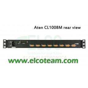"""Console KVM 8 porte LCD 17"""" Aten CL1008"""