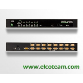 KVM switch 16 porte rack mount Aten CS1316