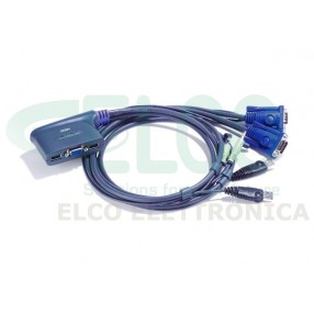 ATEN CS62US KVM Switch 2 porte USB