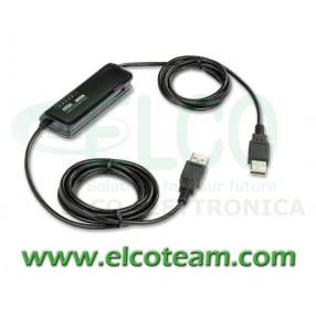 Switch KVM 2 posizioni per Notebook Aten CS661 (