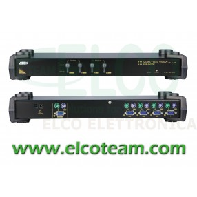 KVM switch 4 porte rack mount Aten CS9134