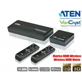 Aten VE829 Estensore e Matrice Wireless 5x2