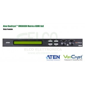 Aten VanCryst™ VM0808H - Vista Frontale