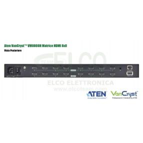 Aten VanCryst™ VM0808H - Vista Posteriore