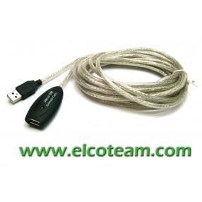 Prolunga attiva USB 2.0 Tipo A M/F 5m
