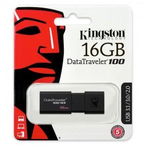 Kingston DT100G3/16GB Pen drive USB 3.1 da 16GB