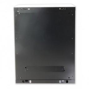 """Armadio Rack 19"""" a Muro 12U profondità 450mm Assemblato colore Nero"""