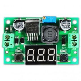 Modulo Convertitore DC-DC Riduttore di Tensione LM2596 con Display