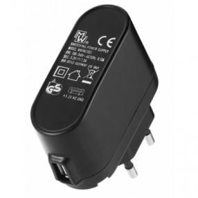 MW 3NU10GS Alimentatore USB 5V 1000mA