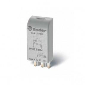 Finder 99.02.0.024.59 Modulo di segnalazione con LED Verde
