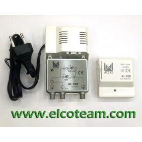 Amplificatore autoalimentato Alcad AI-100